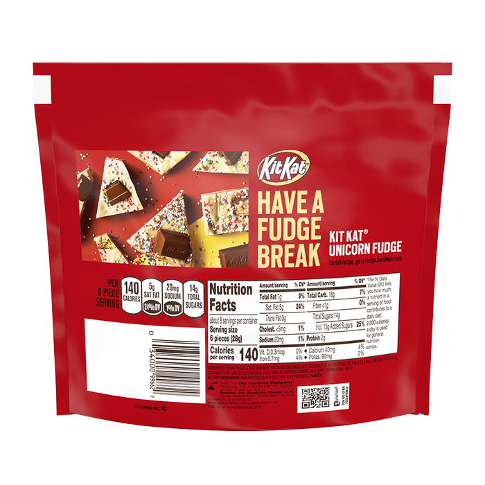 Image of KIT KAT Minis Crisp Wafers in Milk Chocolate, 7.6 oz. bag Packaging