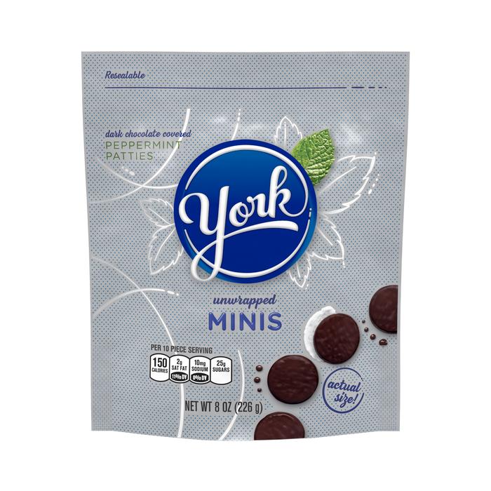Image of YORK Peppermint Patties Minis Packaging