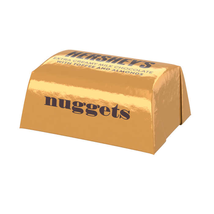 Image of HERSHEY'S NUGGETS Milk Chocolate with Toffee and Almonds - 3.75 lb. Bag Packaging