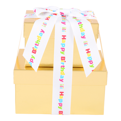 HERSHEY'S Two-Box Chocolate Birthday Gift Tower