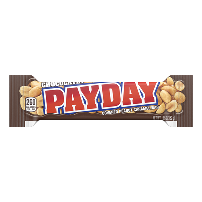 PAYDAY Chocolatey Peanut Caramel Standard Bar, 1.85 oz