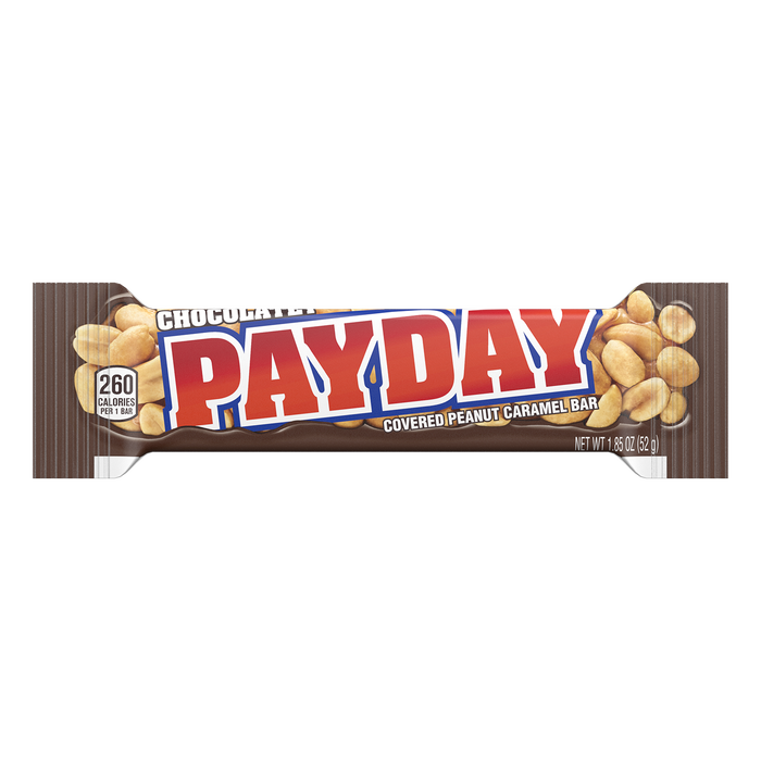 Image of PAYDAY Chocolatey Peanut Caramel Standard Bar, 1.85 oz Packaging