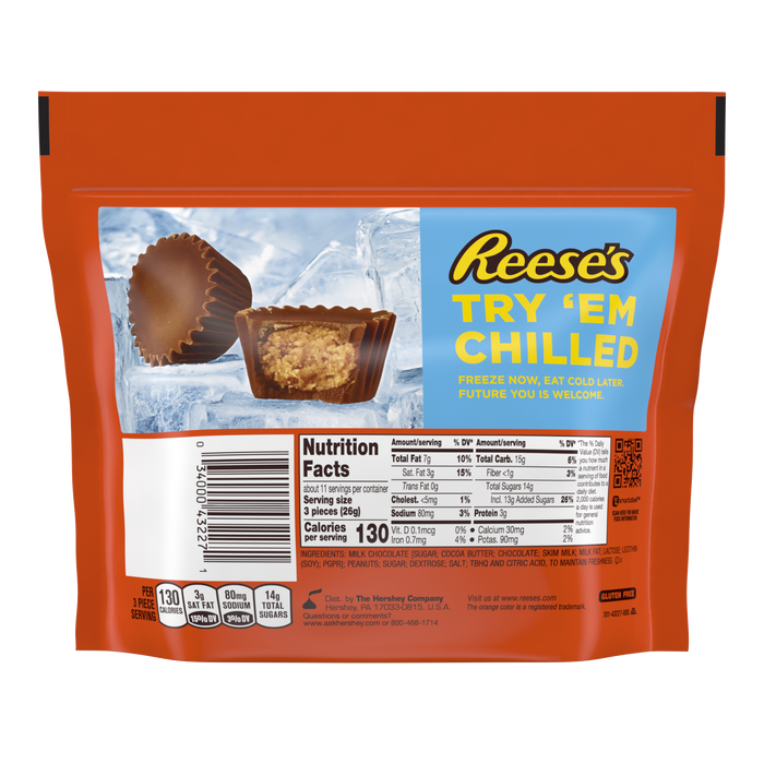 Image of REESE'S Peanut Butter Cup Miniatures, 10.5 oz. bag Packaging