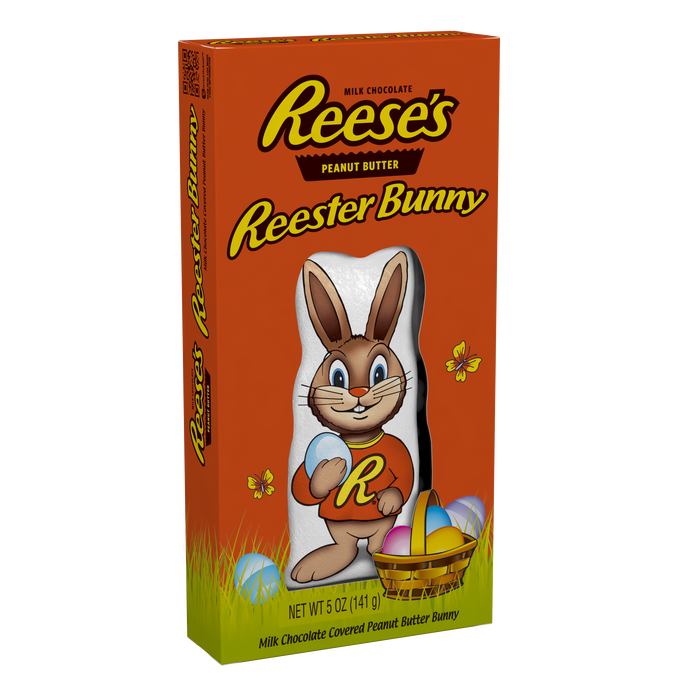 Image of REESE'S Reester Bunny 5 oz. Packaging