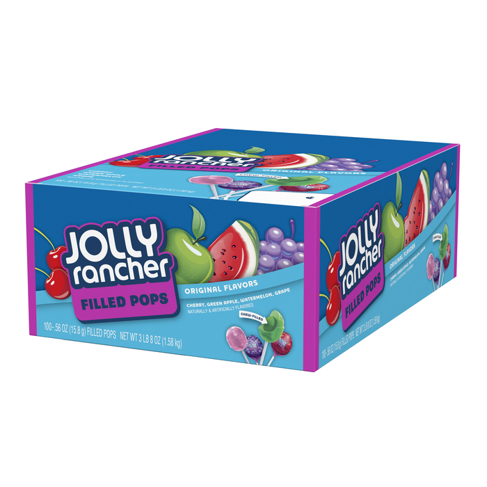 Image of JOLLY RANCHER Fruit Chew Lollipops in Assorted Flavors - 100 ct. Packaging