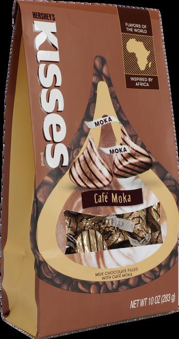 Image of HERSHEY'S KISSES Flavors of the World Café Moka, 10 oz bag Packaging