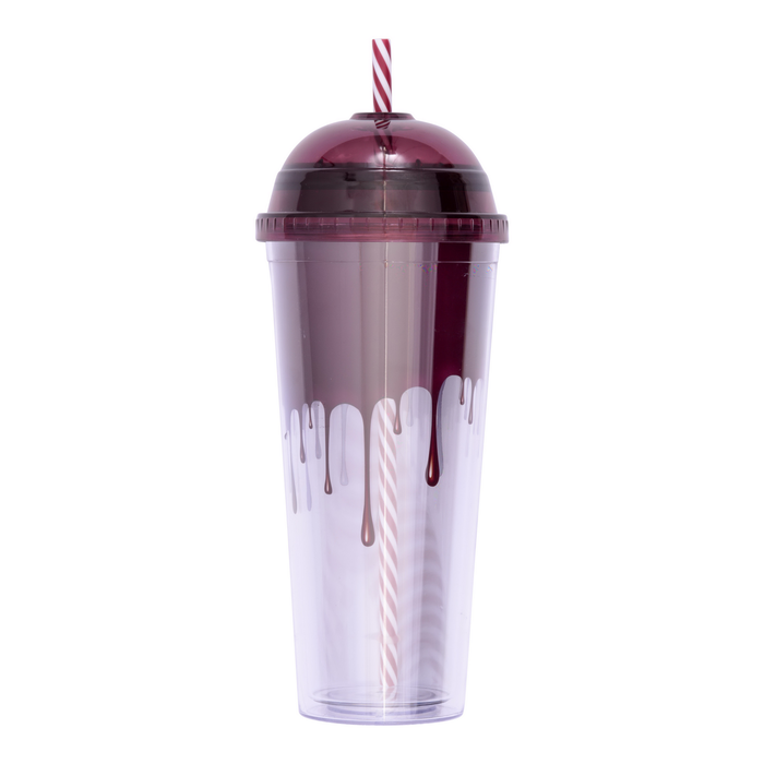 Image of HERSHEY'S Plastic Tumbler Cup with Straw Packaging