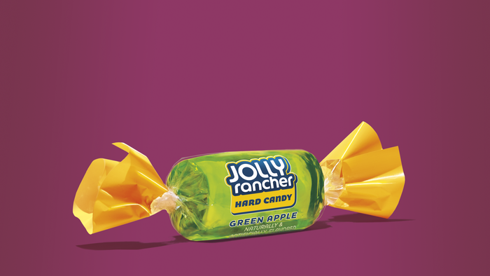 Image of JOLLY RANCHER Hard Candy in Green Apple Flavor - 160 ct. Packaging