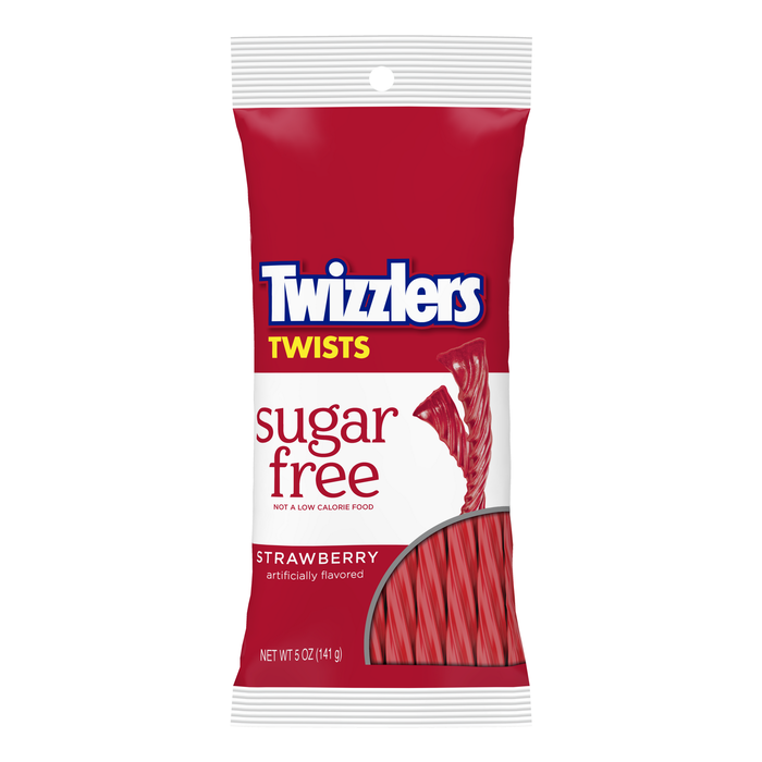 Image of TWIZZLERS Sugar Free Strawberry Twists Packaging