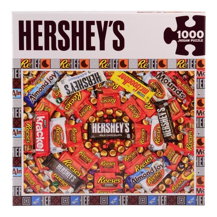 Image of HERSHEY'S Candy Swirl Jigsaw Puzzle – 1000 Pieces Packaging