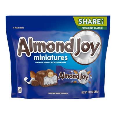 ALMOND JOY Bar Miniatures