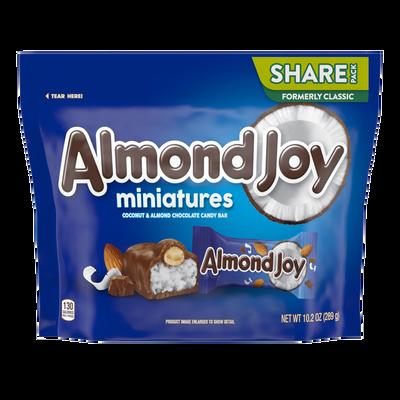 ALMOND JOY Bar Miniatures
