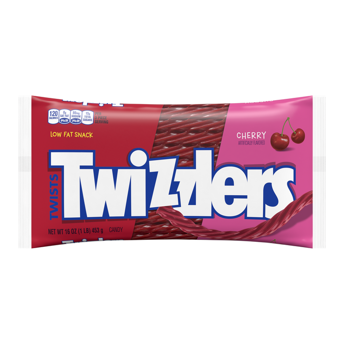 Image of TWIZZLERS Cherry Twists - 1 lb. Packaging