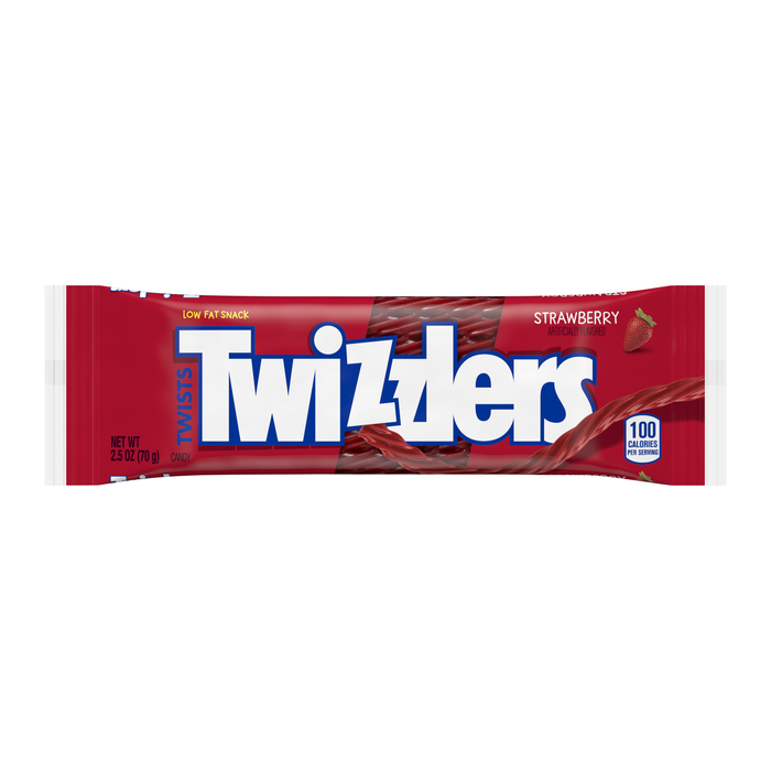 Image of TWIZZLERS Strawberry Twists Standard Bar Packaging