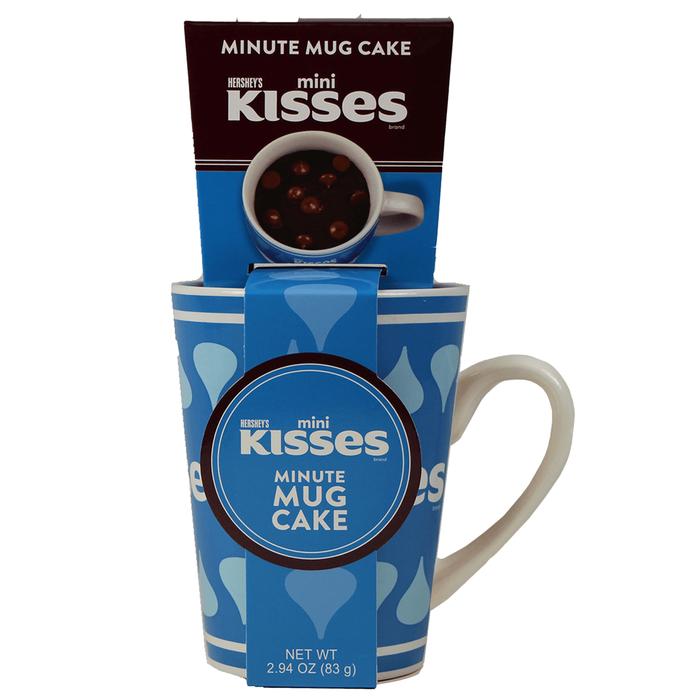 Image of KISSES Mug Cake Kit [2.94 oz. mix kit] Packaging