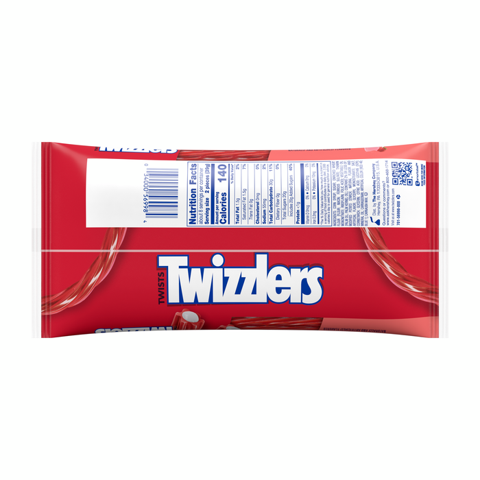 Image of TWIZZLERS Strawberry Smoothie [11 oz. bag] Packaging