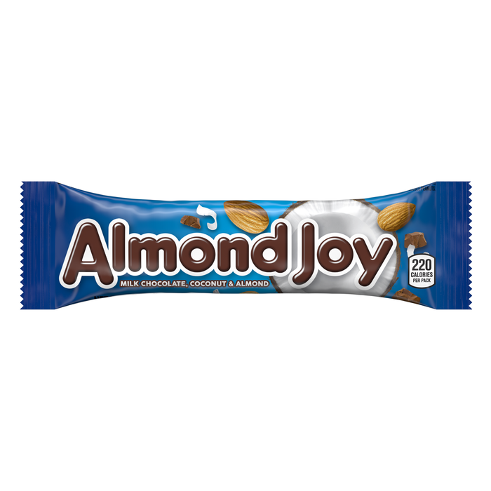Image of ALMOND JOY Standard Bar [36-Pack (36 x 1.61 oz. bar)] Packaging
