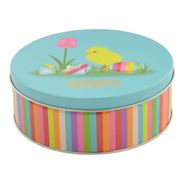 Image of HERSHEY'S Spring Mix Tin 2 lb. [1 Tin] Packaging