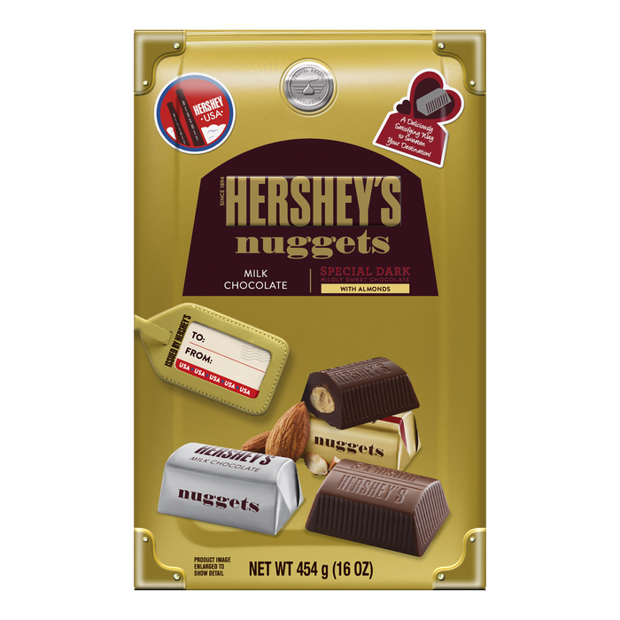 Image of HERSHEY'S NUGGETS Assortment, World Traveler Collection, 16 oz. Packaging