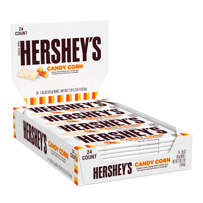 Image of HERSHEY'S Candy Corn, 24-Pack (24 x 1.55 oz. bar) Packaging
