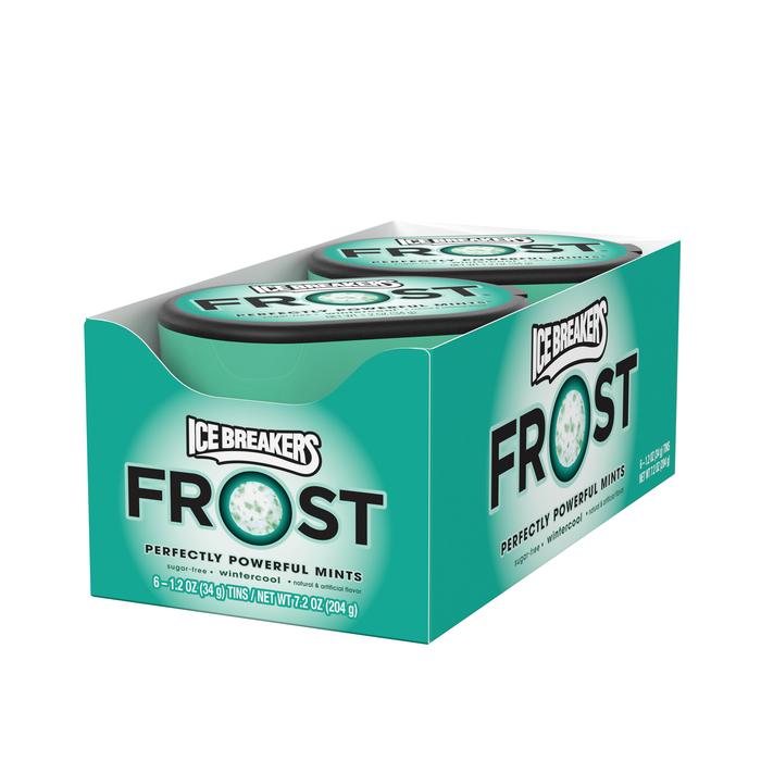 Image of ICE BREAKERS FROST Wintercool Mints Packaging