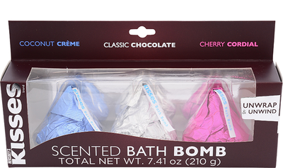 HERSHEY'S KISSES Scented Bath Bombs