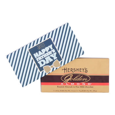 HERSHEY'S Father's Day GOLDEN ALMOND Chocolate Bars