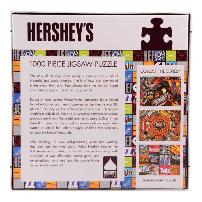 Image of HERSHEY'S Candy Matrix Puzzle – 1000 Pieces Packaging