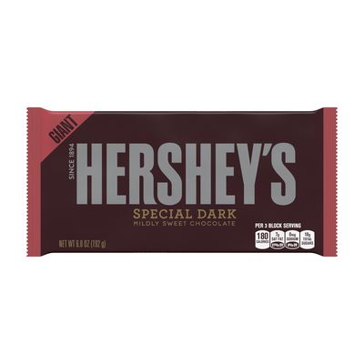 HERSHEY'S SPECIAL DARK Giant (6.8 oz.) Bar