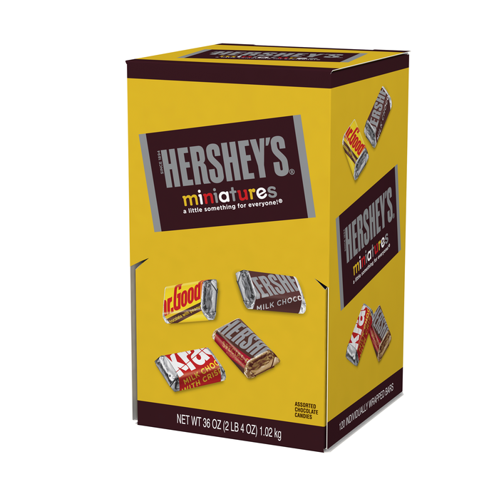 Image of HERSHEY'S Miniatures - 120 ct. Packaging