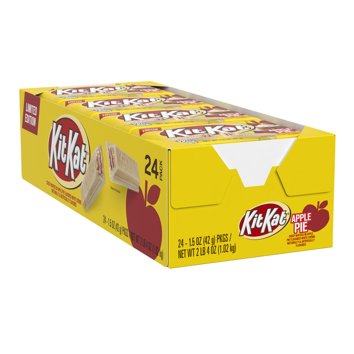 Image of KIT KAT® Apple Pie Wafer Bar, 1.5 oz. Packaging