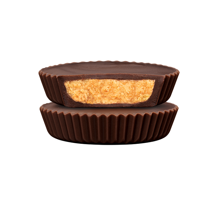 Image of REESE'S Organic Dark Chocolate Peanut Butter Cups, 1.4 oz. 12-Pack (12 x 1.4 oz. bar) Packaging