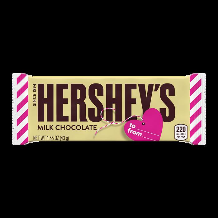 Image of HERSHEY'S Milk Chocolate Valentine's Exchange, 10 oz. bag Packaging