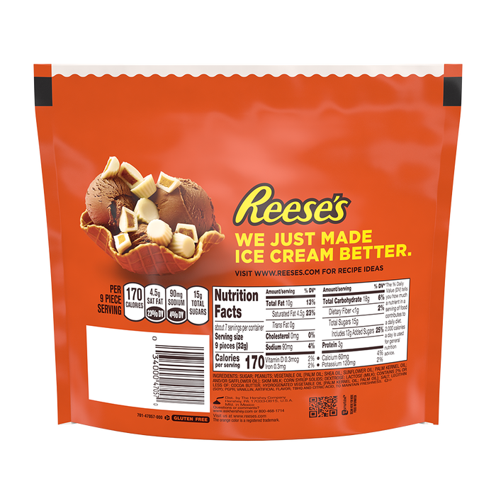 Image of REESE'S White Minis Cups Packaging