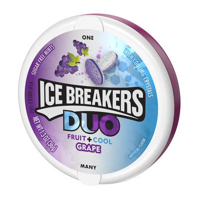 ICE BREAKERS DUO Grape Flavored Mints