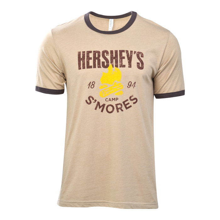Image of HERSHEY'S S'MORES Camp T-Shirt [1 large t-shirt] Packaging