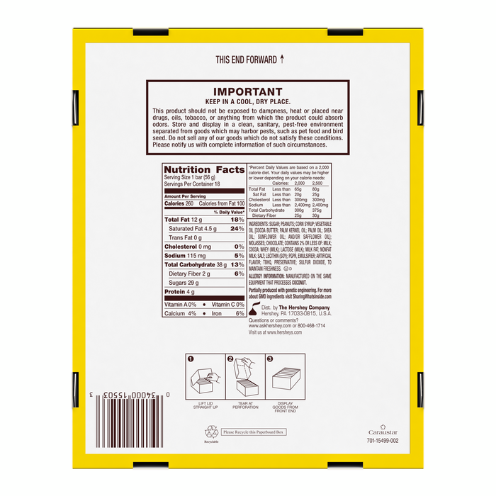 Image of HERSHEY'S 5th AVENUE Standard Bar Packaging