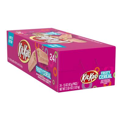 KIT KAT Fruity Cereal Candy Bar, 1.5 oz.