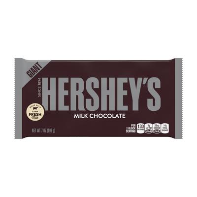 HERSHEY'S Milk Chocolate Giant (7 oz.) Bar