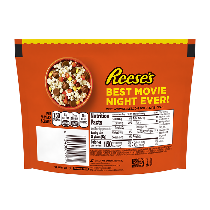 Image of REESE'S PIECES Candy Packaging