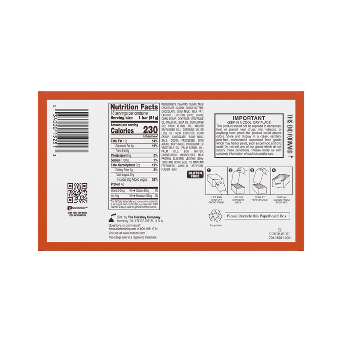 Image of REESE'S FAST BREAK Standard Bar Packaging