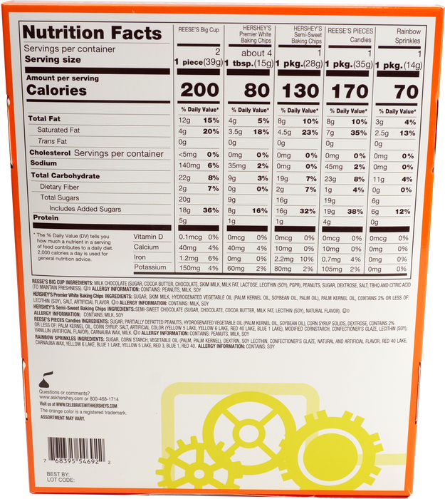 Image of REESE'S Create Your Own Candy Bar Kit Packaging