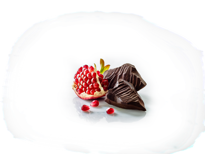Image of BROOKSIDE Dark Chocolate Pomegranate - 7 oz. [7 oz. bag] Packaging