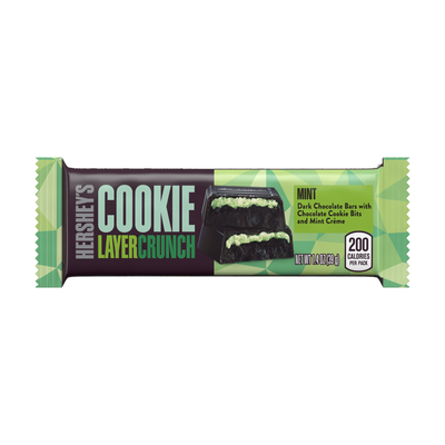 HERSHEY'S COOKIE LAYER CRUNCH Bar - Mint