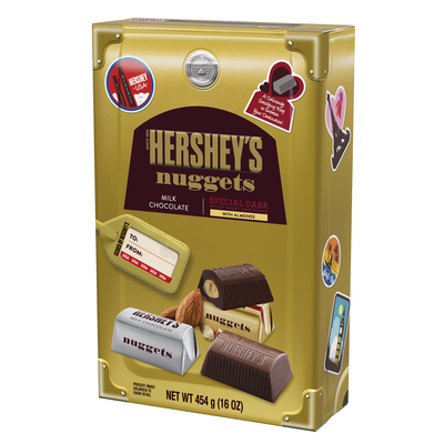 HERSHEY'S NUGGETS Assortment, World Traveler Collection, 16 oz., 16 oz. bag