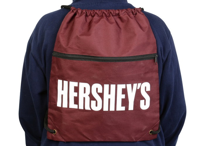Image of HERSHEY'S Chocolate Drawstring Backpack Packaging