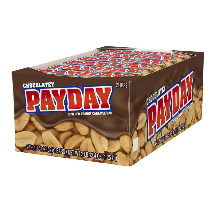 Image of PAYDAY Chocolatey Peanut Caramel Standard Bar, 1.85 oz Packaging