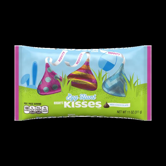 Image of KISSES Egg Hunt Foils, 11 oz. [1 pack] Packaging