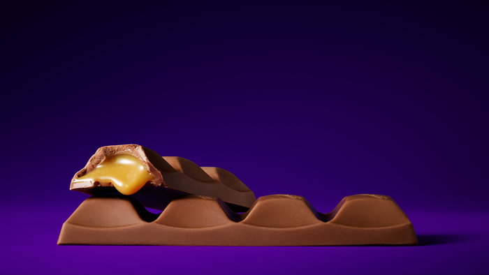 Image of CADBURY CARAMELLO Standard Bar Packaging