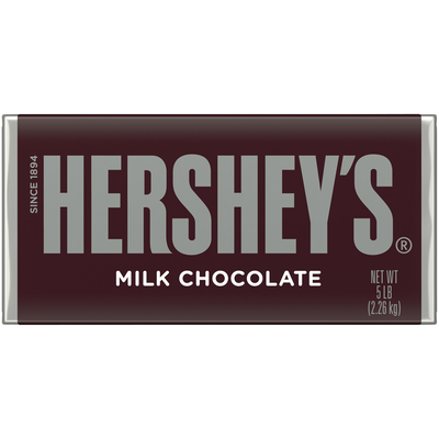 World's Largest HERSHEY'S Milk Chocolate Bar